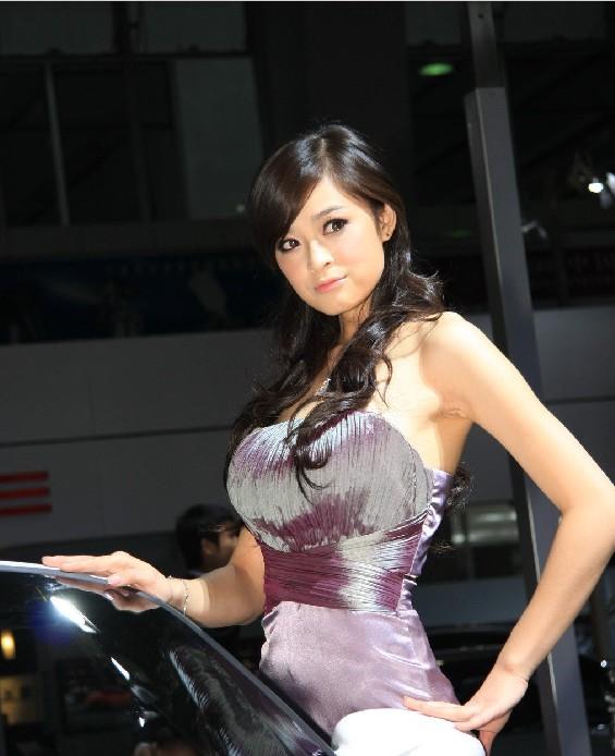中国美女车模古典美女车模保时捷女车模中国车模