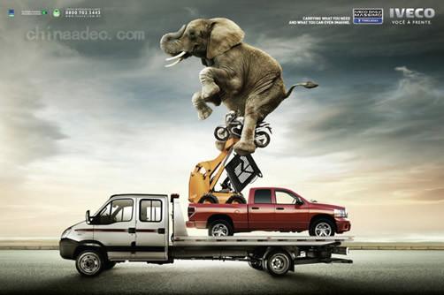 汽车创意广告欣赏【二】图片