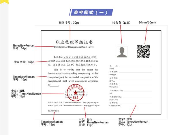 安全评价师职业技能等级证参考样式一@chinaadec.com